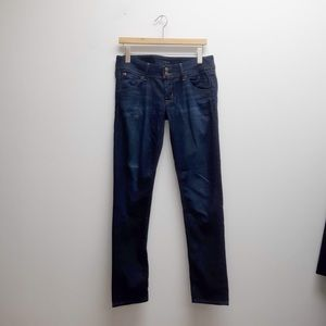 Hudson Dark Wash Denim Skinny Jeans 28